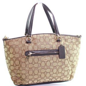 COACH Satchel In Signature Jacquard
